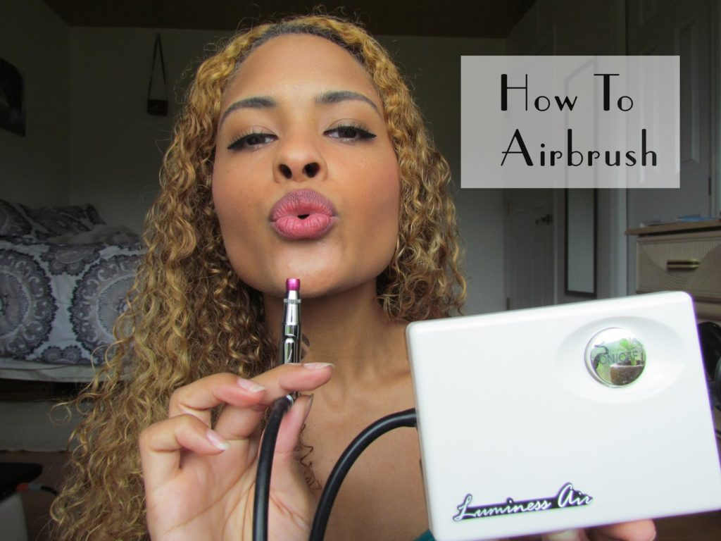 how to clean luminess airbrush
